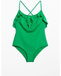 & Other Stories - Frill Swimsuit - Lyst