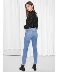 & Other Stories - Straight Slim Fit Jeans - Lyst