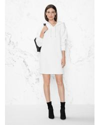 & Other Stories - Hoodie Sweater Dress - Lyst