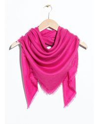 & Other Stories - Triangle Scarf - Lyst
