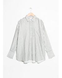 & Other Stories - Oversized Button Down Shirt - Lyst