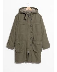 & Other Stories - Hooded Jacket - Lyst