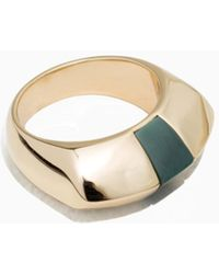 & Other Stories   Chunky Signet Ring   Lyst