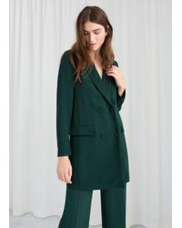 & Other Stories - Double Breasted Blazer Dress - Lyst