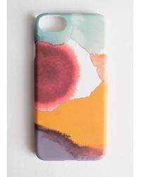& Other Stories Watercolour Splash Iphone Case