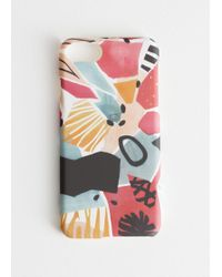& Other Stories Abstract Watercolour Iphone Case