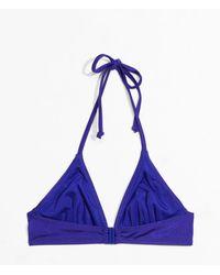 & Other Stories - Jaguar Print Triangle Bikini Top - Lyst