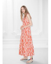 & Other Stories - Pineapple Print Dress - Lyst