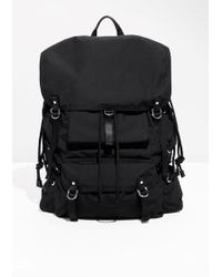 & Other Stories | Strappy Backpack | Lyst