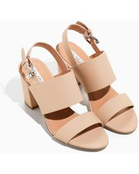 & Other Stories - Heel Strap Leather Sandals - Lyst