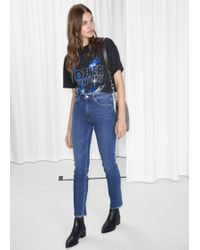 & Other Stories - Striaght Slim Fit Jeans - Lyst