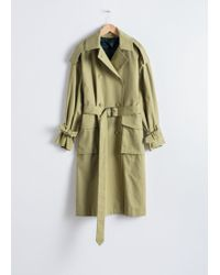 & Other Stories Oversized Belted Trenchcoat
