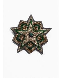 & Other Stories - Bead Star Brooch - Lyst