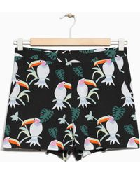& Other Stories | Tropical Toucan Shorts | Lyst