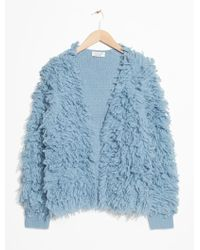 & Other Stories - Shaggy Cardigan - Lyst