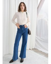 & Other Stories - Flared Mid Rise Jeans - Lyst