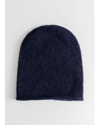 & Other Stories - Slouchy Wool Blend Beanie - Lyst
