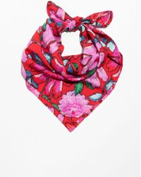 & Other Stories - Peony Print Scarf - Lyst