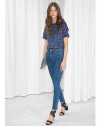 & Other Stories - High-waist Denim Jeans - Lyst