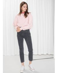 & Other Stories - High-rise Denim Jeans - Lyst