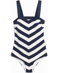& Other Stories - Graphic Print Swimsuit - Lyst