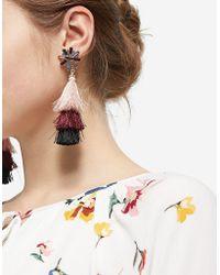 Stradivarius   Tassel Cascading Earrings   Lyst