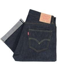 Levi's - Levis Vintage 1955 501 Xx Rigid Selvage Denim Jeans 50155-0116 - Lyst