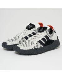 adidas Originals - F/22 Primeknit - Black, Core Black & Crystal White - Lyst