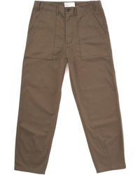 Universal Works - Fatigue Pant - Olive Twill - Lyst