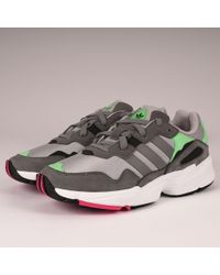 timeless design 45e86 b554b adidas Originals - Yung-96 - Grey Two, Grey Three  Shock Pink -