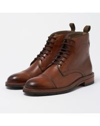 Oliver Sweeney | Leather Boxgrove Boots - Cognac | Lyst