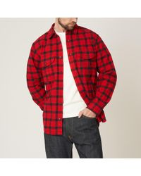 Filson - Red & Black Alaskan Guide Shirt - Lyst