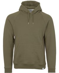 Norse Projects - Lichen Classic Ketel Hoodie - Lyst