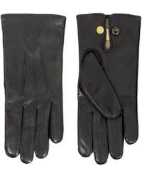 Dents - Leather Dress Black Gloves - Lyst