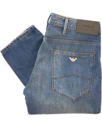 Armani Jeans - J06 Slim Fit Jeans - Denim - Lyst