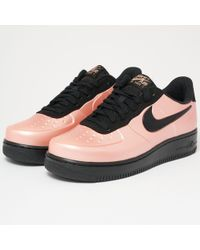Nike - Air Force 1 Foamposite Pro Cupsole - Coral Stardust - Lyst