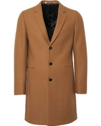 PS by Paul Smith - Wool-cashmere Overcoat - Camel - Lyst