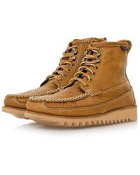 G.H.BASS - Ranger Moc Ii Mid Brown Boot Ba13451033 - Lyst