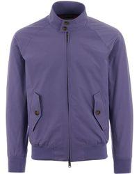 Baracuta G9 Classic Harrington Jacket - Lavander - Purple