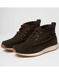 G.H.BASS - Scout Runner Suede Boot - Dark Brown - Lyst