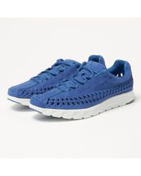 Nike - Mayfly Woven Royal Blue Trainers - Lyst