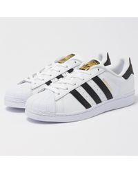 adidas Originals - Mens Superstar White - Lyst
