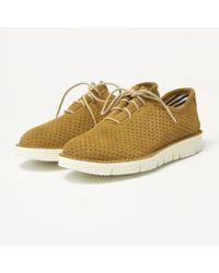 Fracap - Forata Camel Suede Shoes - Lyst