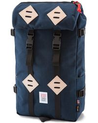 Topo Designs - Topo Design Kettlesack Navy Backpack - Lyst