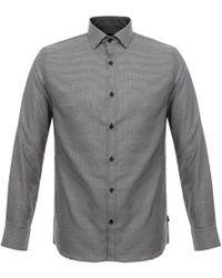 Matíníque - Trostol Dogtooth Dark Navy Shirt - Lyst