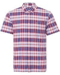 Lacoste - Toreador Check Oxford Shirt - Lyst
