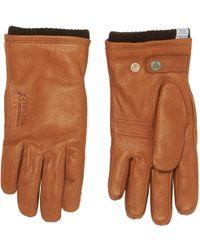Norse Projects - Tobacco Utsjo Gloves - Lyst