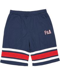 91107fd5dc4c Fila Vintage Fila High Tide 4 Peacoat Shorts in Blue for Men - Lyst
