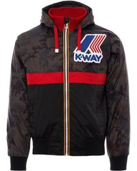 K-Way - Remix 145 Padded Graphic Jacket - Lyst