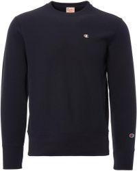 Champion Reverse Weave Mini Logo Sweatshirt